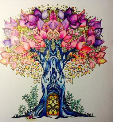kleurplaten voor volwassenen mijn geheime tuin