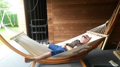 Hangmat Op Staander.Bol Com Giardino Hangmat Hawai Met Houten Standaard 320 Cm