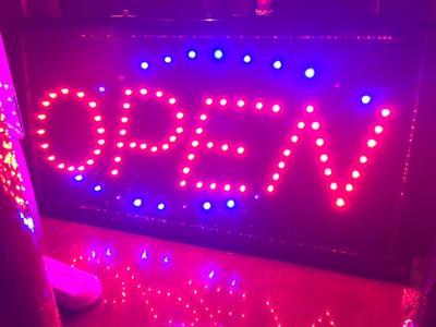 Beste bol.com   Led licht bord ledbord OPEN voor restaurant winkel of YA-34