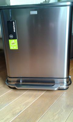 Simplehuman Afvalemmer Rectangular 38 Liter Mat Rvs.Bol Com Simple Human Afvalemmers Steel Bar Step Can 2x 24 Ltr