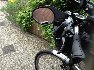 Spiegel Voor Fiets : Bol mirage gr fietsspiegel verstelbaar