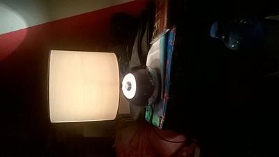 Bol ranex noa tafellamp zwarte kap touch en
