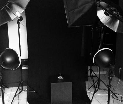 Nieuw bol.com   tectake studiolampen - 2x studiolamp - fotolamp KI-09
