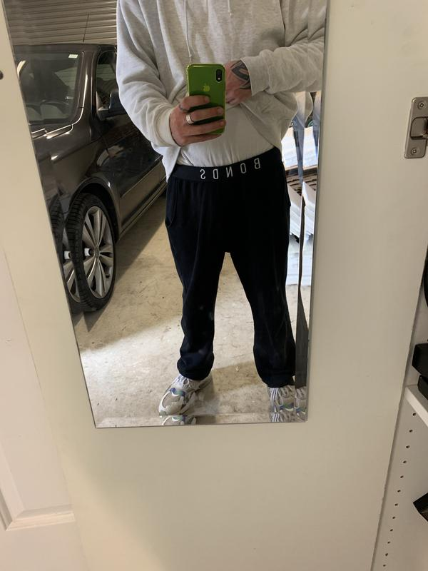 Bonds Mens Originals Straight Trackie Track Pants size XS Colour Asphalt Marle