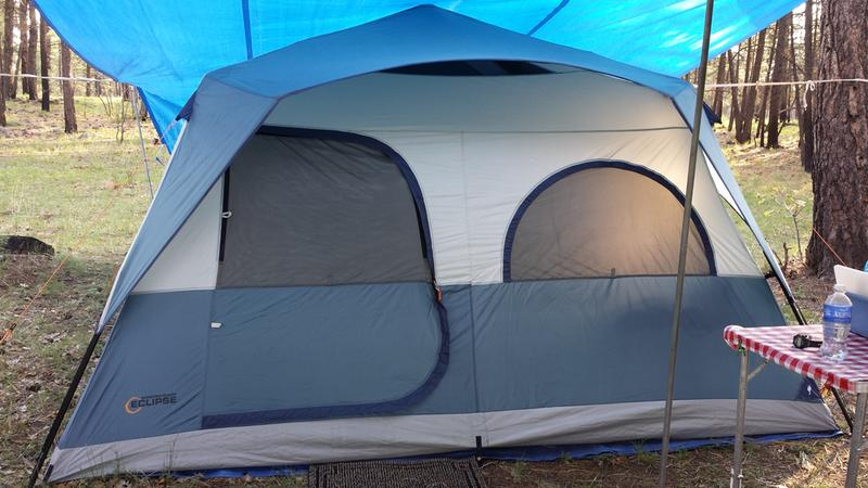 Review photo 1 & Bass Pro Shops Eclipse 8-Person Speed Frame Tent | Bass Pro Shops