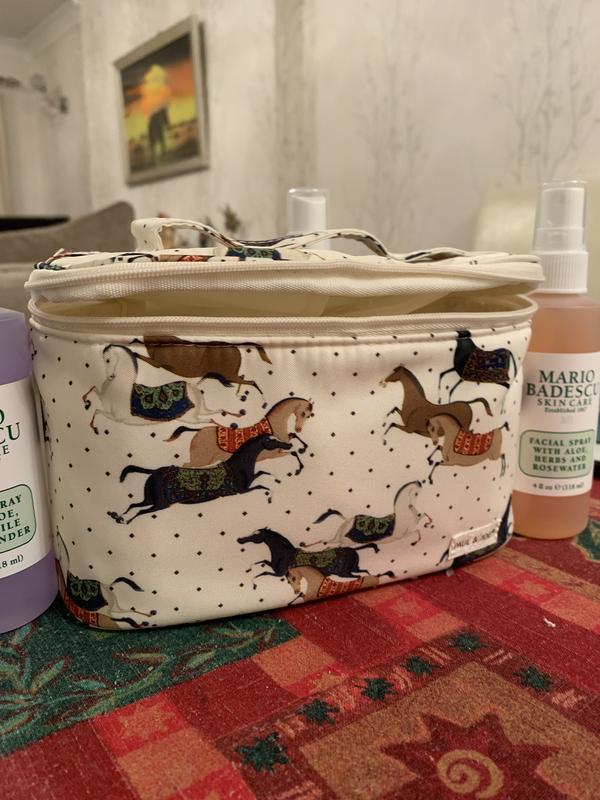 Paul Joe Cosmetic Pouch Iv Horses At
