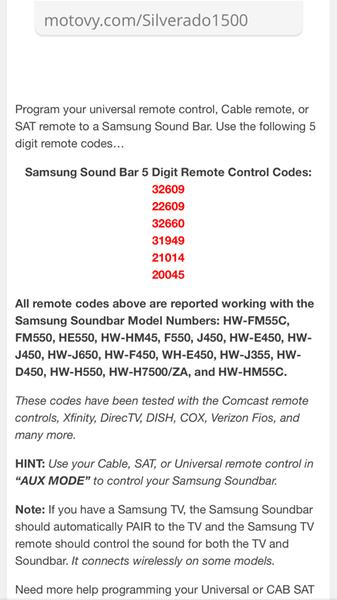 Samsung Tv Remote Codes For Dish