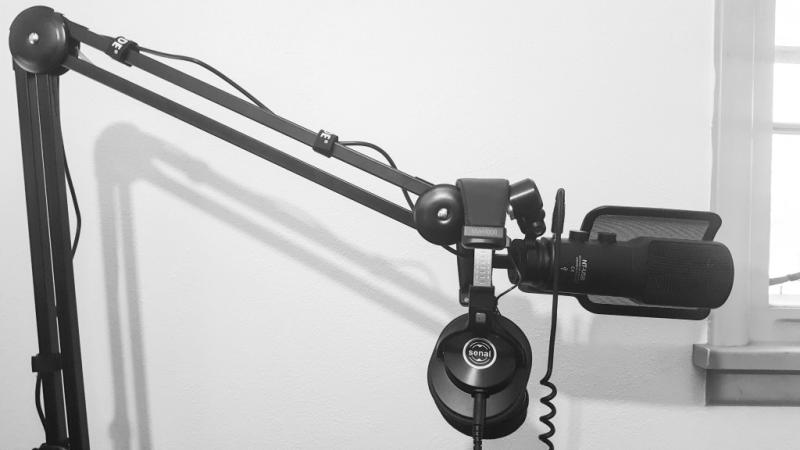 Rode Psa1 Studio Boom Arm For Broadcast Microphones Psa1 B Amp H