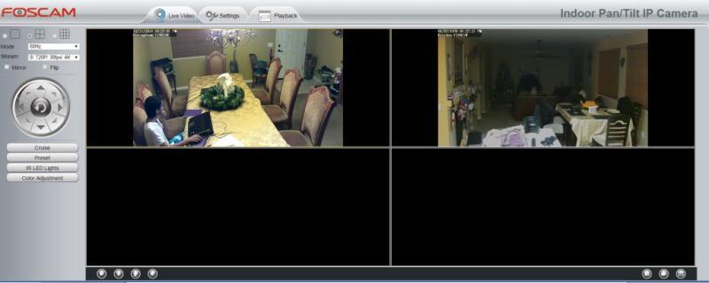 Foscam FI9821W V2 Wireless Indoor 1MP, IP Camera (Black, 720P, H 264)