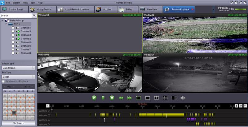 Swann 8-Ch DVR with 1TB HDD & 4 x 3MP Outdoor Bullet Cameras with Night  Vision