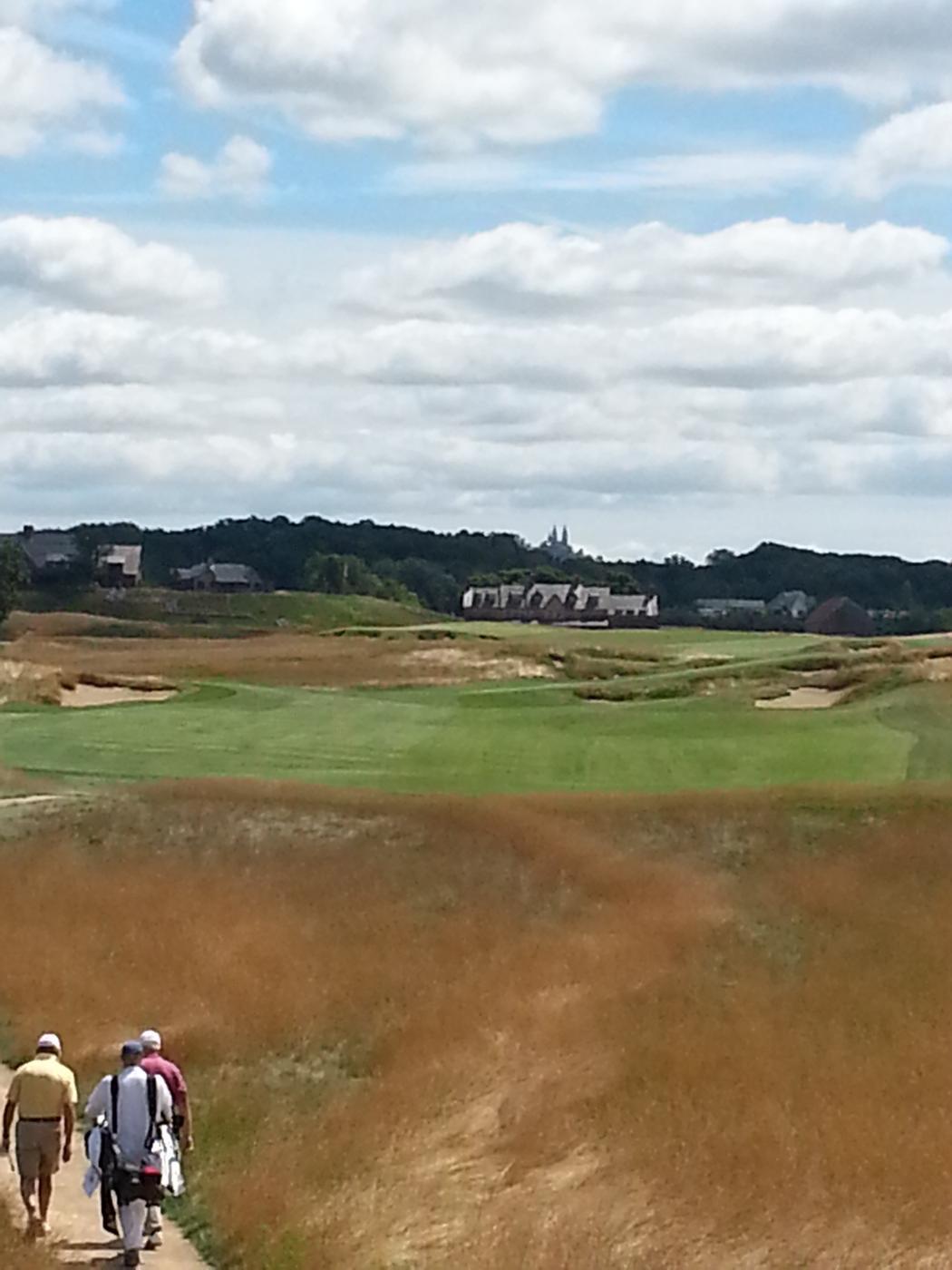 erin hills golf course in erin wisconsin usa golf advisor