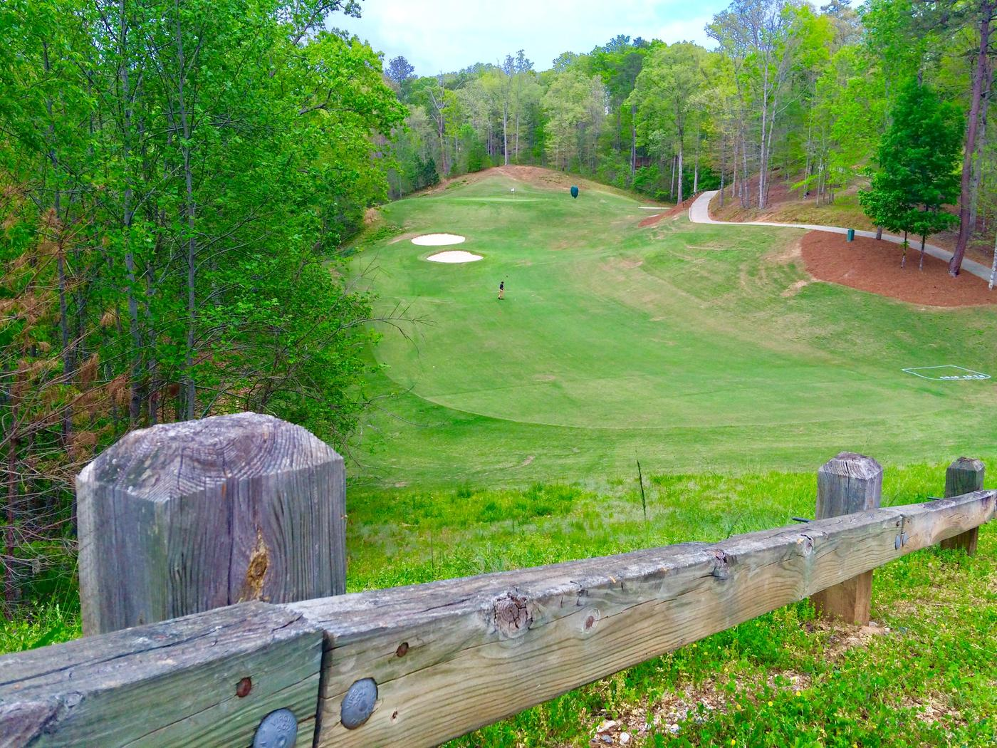 exceptional cider ridge #1: Par-4, seventh hole