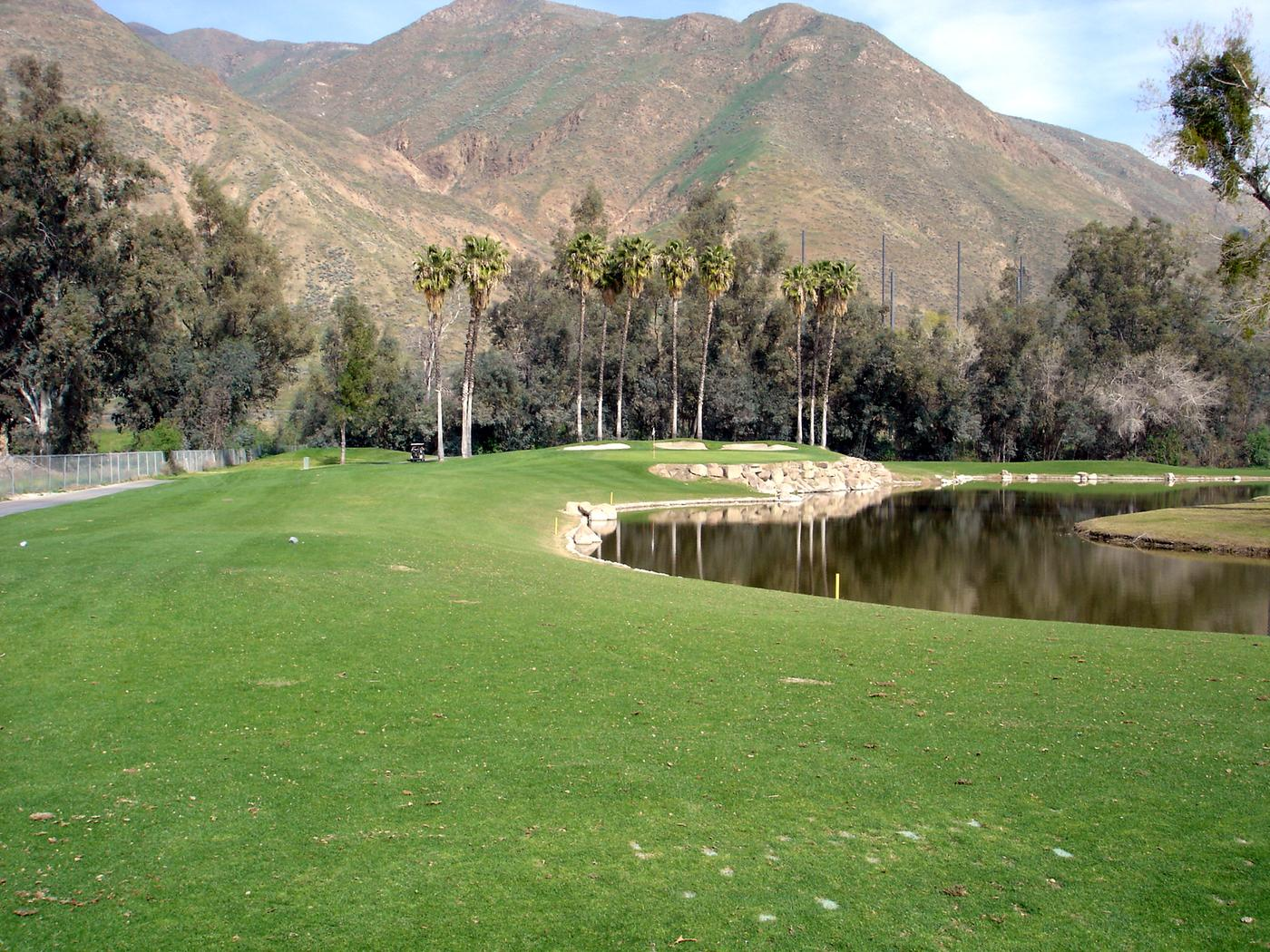 The Country Club At Soboba Springs Hole 8 Par 3 151 Yds