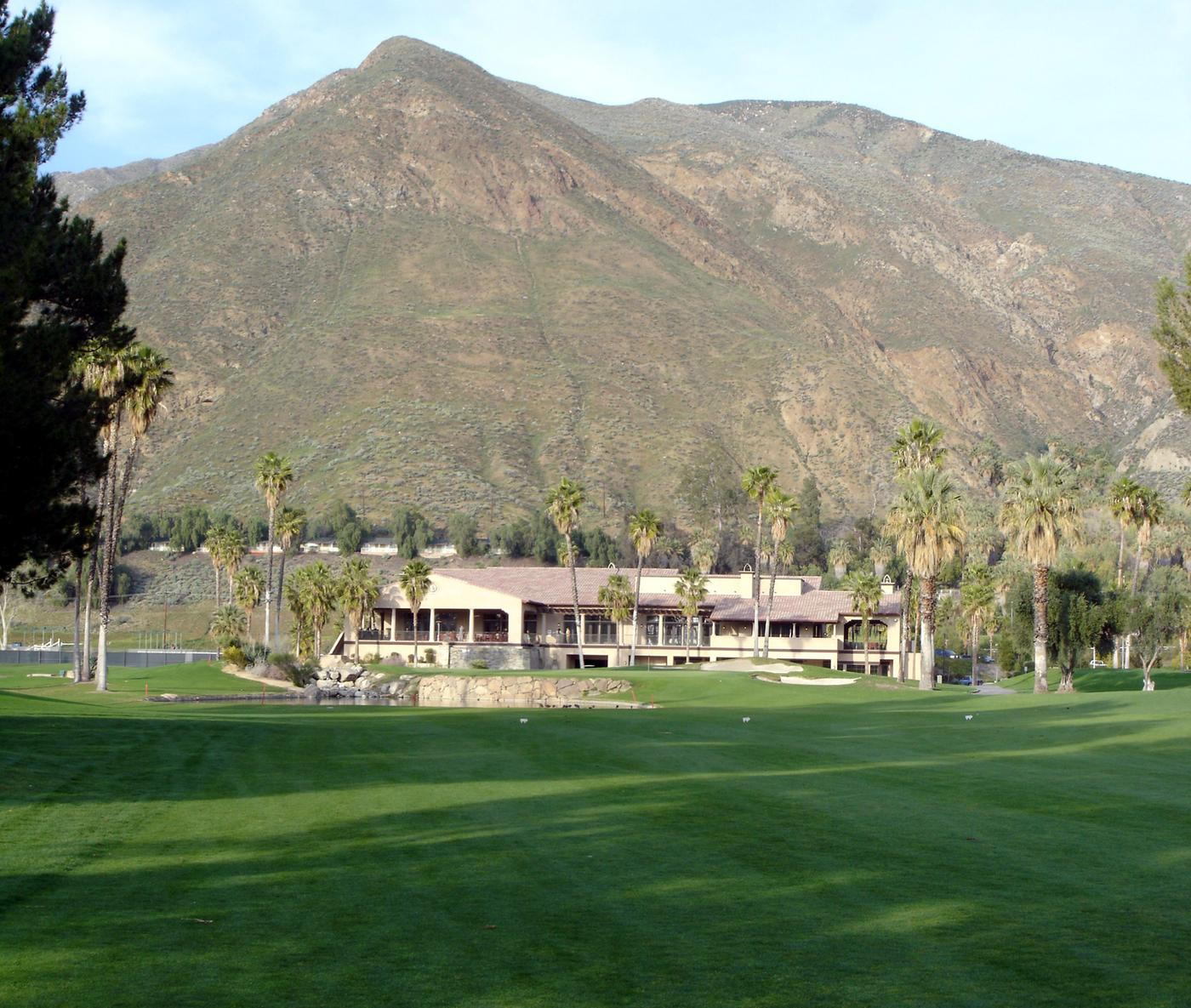 The Country Club At Soboba Springs Hole 18 Par 5 521 Yds