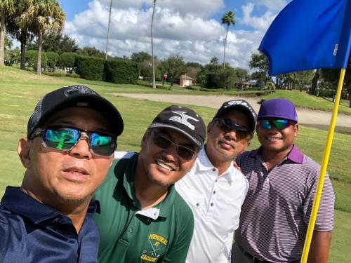 Golf for fun tournament and Friday boyz