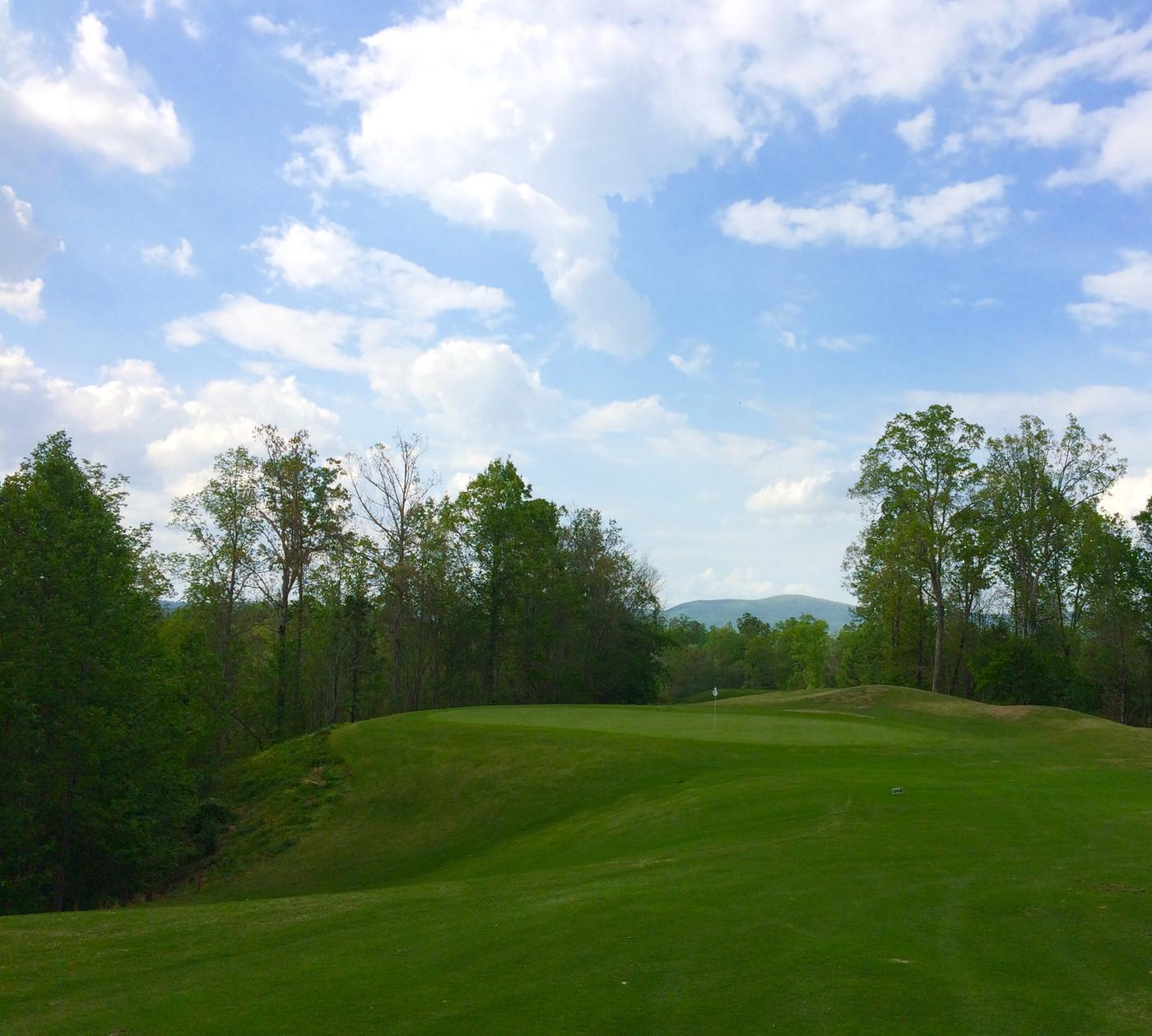 charming cider ridge #5: Par-4, 16th hole
