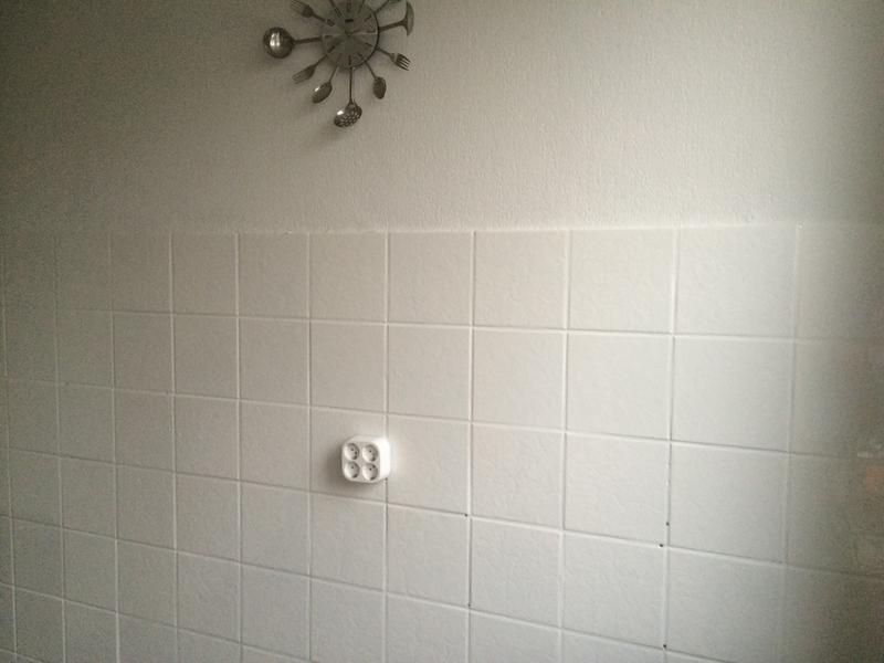 Badkamer Tegel Verf : Tegelverf grijs badkamer archidev