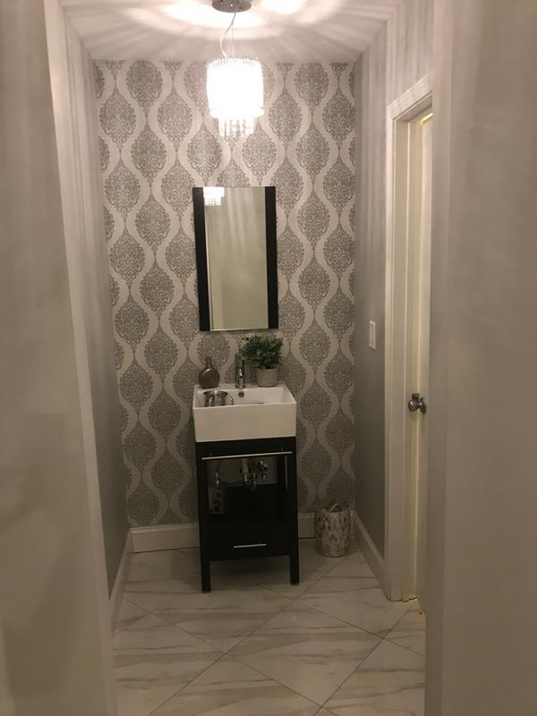 . Luna Grey Wallpaper   Grey Wallpaper   Superfresco