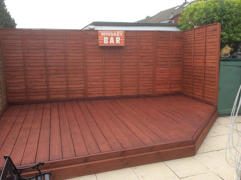 Colours Timbercare Red cedar Shed & fence stain 9L | Departments | DIY at  B&Q