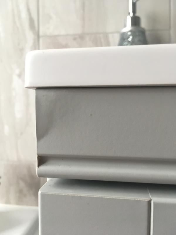Cooke Lewis Chadleigh Matt Light Grey Vanity Unit Basin Set Departments Diy At B Q