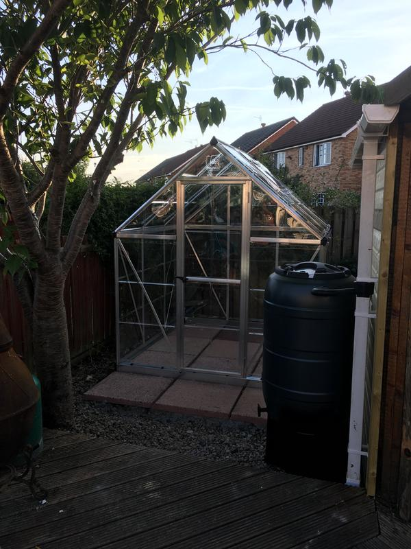 Palram Harmony 6x4 Polycarbonate greenhouse | Departments | DIY at B&Q
