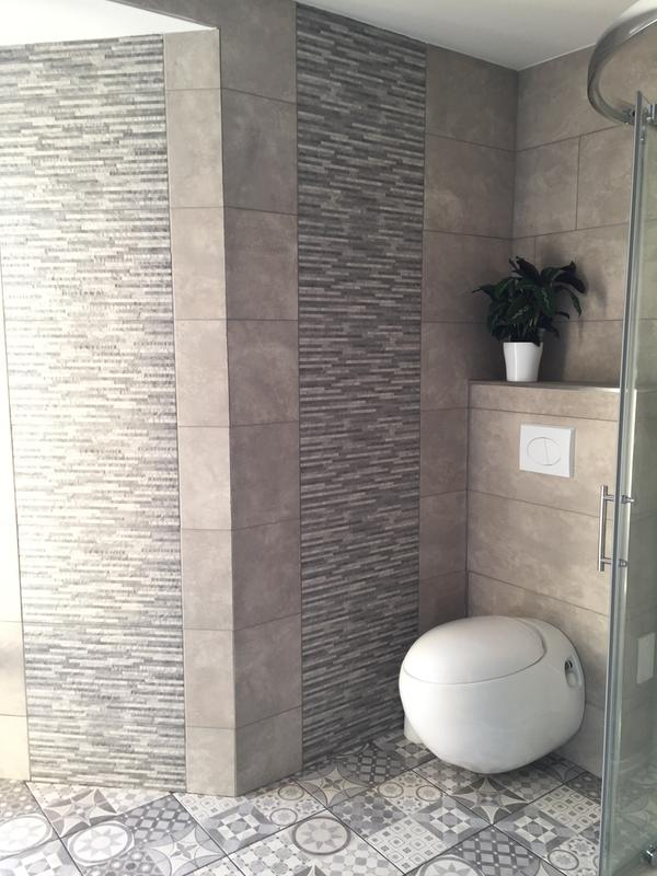 Pleasant Lofthouse Grey Matt Stone Effect Ceramic Wall Floor Tile Pack Of 9 L 331Mm W 331Mm Departments Diy At Bq Download Free Architecture Designs Scobabritishbridgeorg
