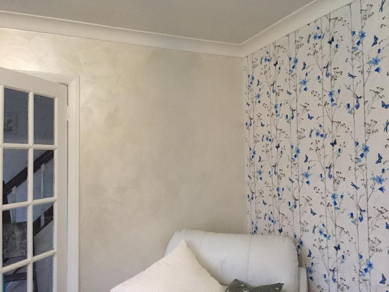 Colours Feature Wall Pearlescent Emulsion Paint 1l Departments Diy At B Q