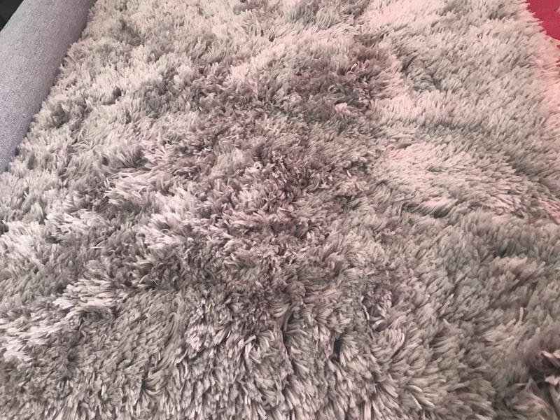 Polar Shaggy Rug Dunelm