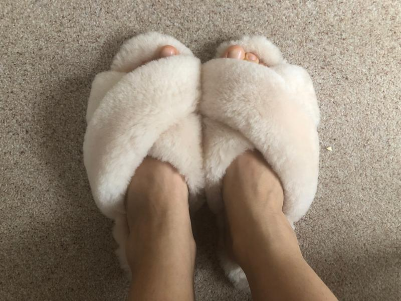 Mayberry Crossover Sheepskin Slipper Slide Emu Australia