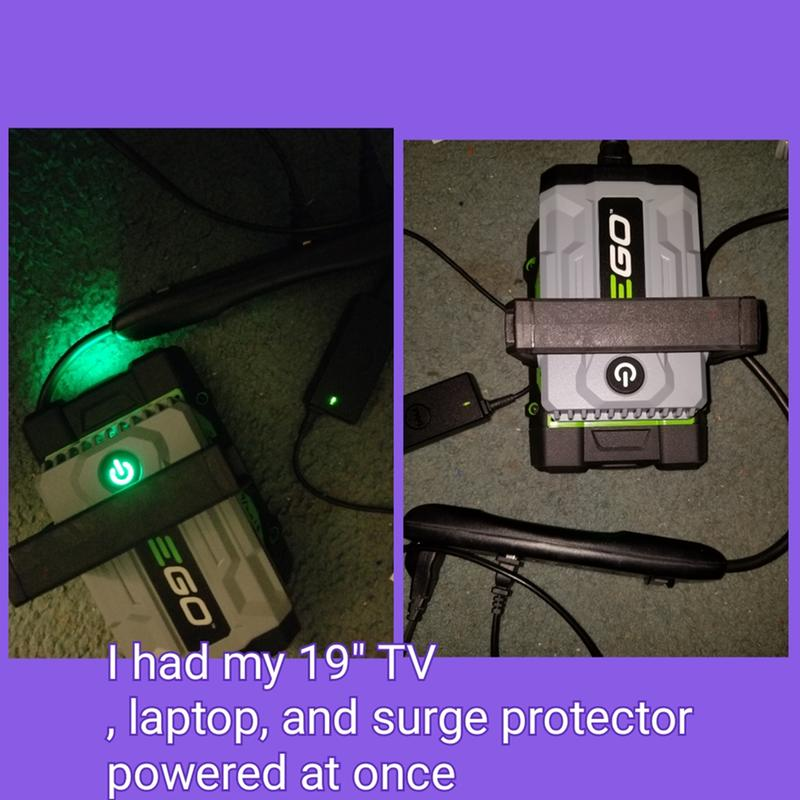 Portable Power Inverter - Nexus Escape by EGO POWER+