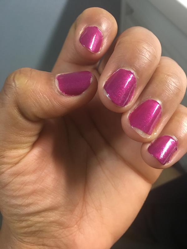 jamaica me crazy - shimmer magenta nail polish & nail color - essie