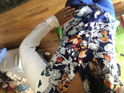 slim fit floral print portofino shirt