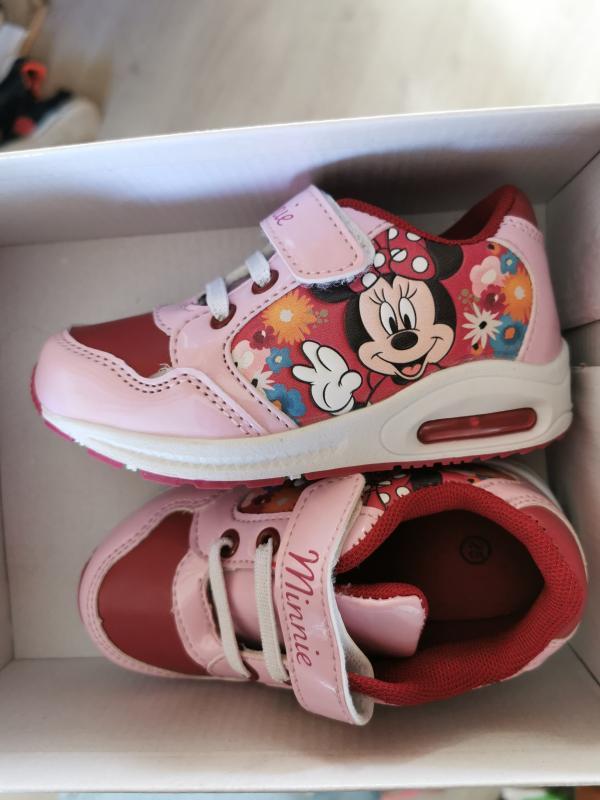 prix attractif variété de dessins et de couleurs chaussures pour pas cher Baskets fleurie 'Minnie'