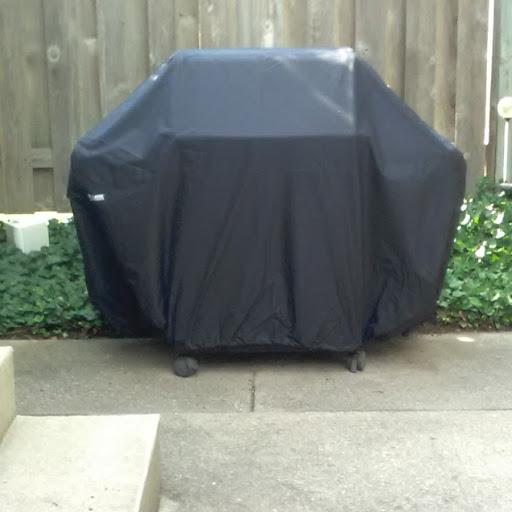 Classic Accessories 55-367-350401-WB Sodo Black Grill Cover For Weber Spirit Gas