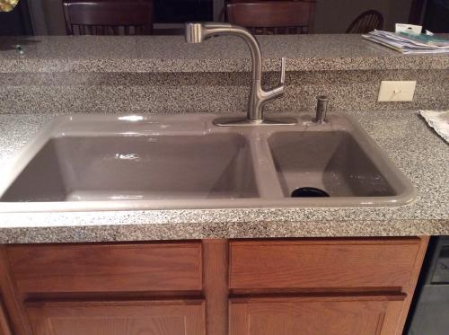 KOHLER Elate Single-Handle Pull-Out Sprayer Kitchen Faucet In ...