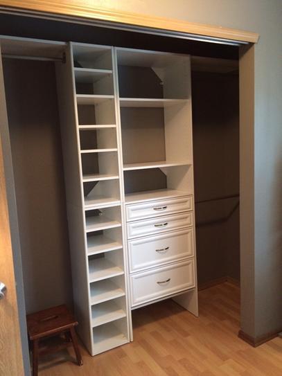 ClosetMaid Selectives 145 In X 415 25 3 Shelf White Stackable Organizer 7030