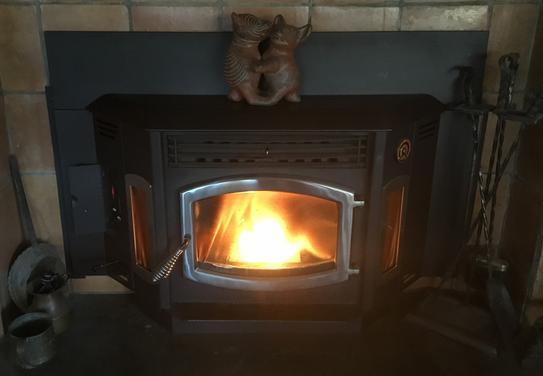 Stove Chow Premium Wood Pellet Fuel 40 lb. Bag 40100 at ...