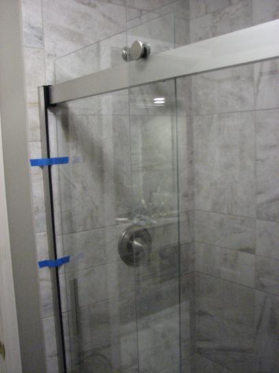 KOHLER Levity 48 in. x 74 in. Semi-Frameless Sliding Shower Door in ...