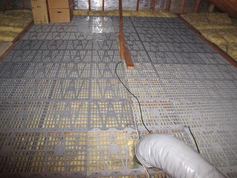 Attic Dek 16 In X 16 In On Center Attic Flooring Panels
