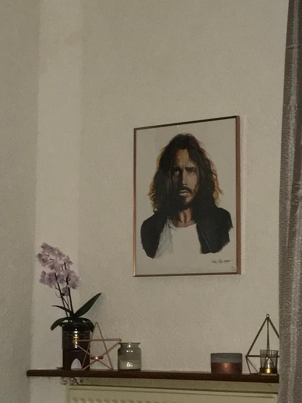 36ad04d5733 My Chris Cornell shelfie. Originally posted on 40 x 50cm  16 x 20