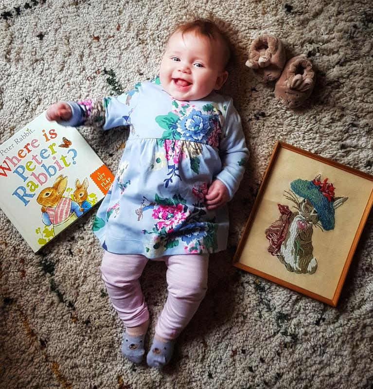 Joules Christina Official Peter Rabbit Collection Dress and Leggings Set *FREE U