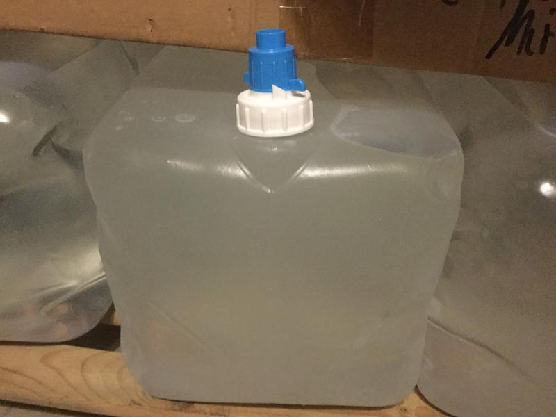 Faltkanister 15l Wasserkanister Kanister 15 Liter Camping faltbar