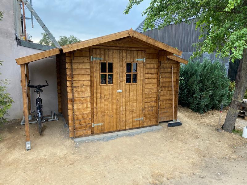 Weka Holz Gartenhaus Bologna Plus 19 Natur Bxt 340x200 Davon 140 Cm Schleppdach Kaufen Bei Obi