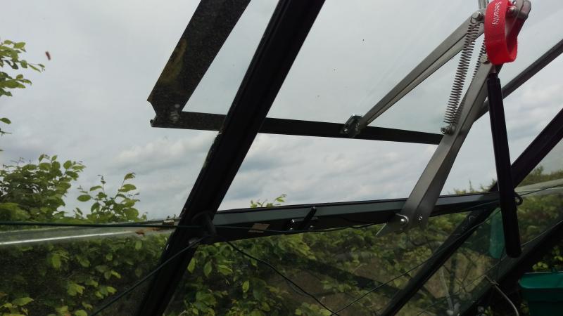 automatisch Juliana Univent Gewächshaus-Fensteröffner