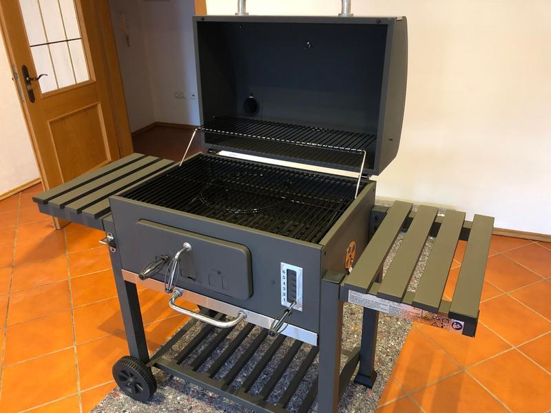 Tepro Toronto Xxl Holzkohlegrill Abdeckhaube : Tepro holzkohle grillwagen toronto xxl mit höhenverstellbarer