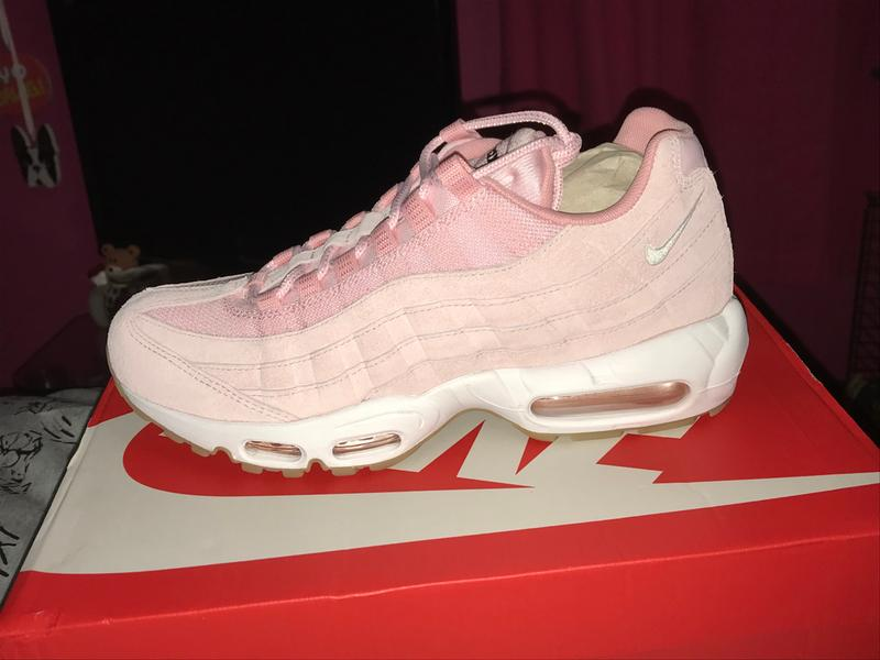 b16793ba9b Review photo 1. Originally posted on Nike Air Max 95 PRISM PINK WHITE SHEEN