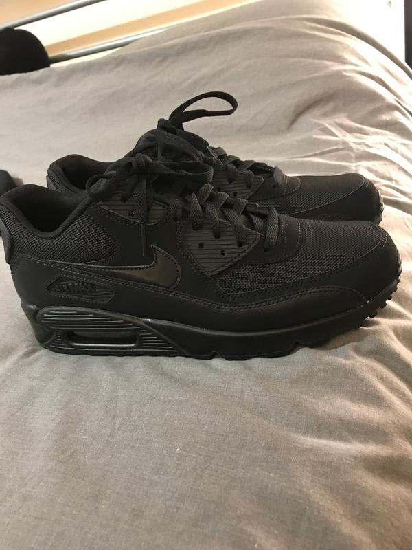 Nike Air Max 90 Black Mono - His trainers 2df5bd69b8845