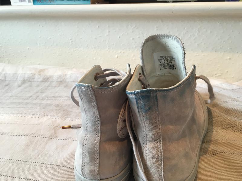 8f0b6ab5a45 Converse All Star Hi Lthr Ash Grey Rose Gold - Unisex Sports