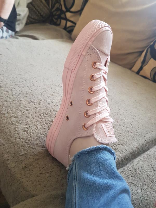 Review photo 1. Originally posted on Converse Allstar Low Lthr MOUSE VAPOUR  PINK EXCLUSIVE c72477ff4