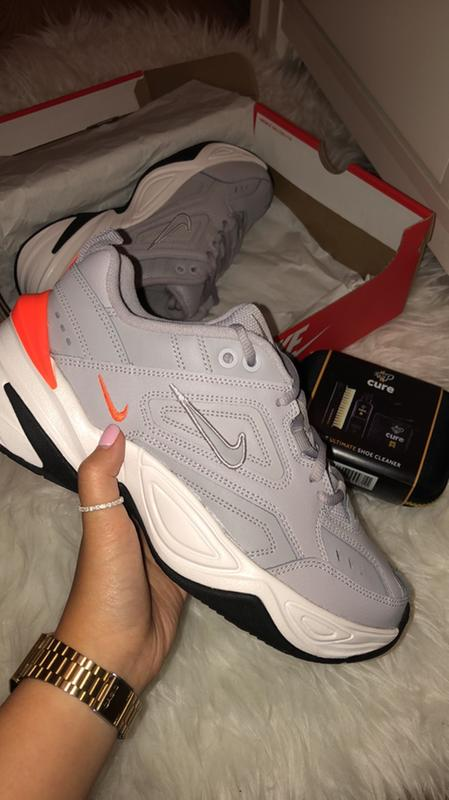 cheap for discount 7ffa1 fe4d0 Review photo 2. Originally posted on Nike M2k Tekno ATMOSPHERE GREY PHANTOM  TOTAL ORANGE